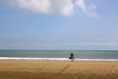 Hoi an beach  vietnam Stock Image