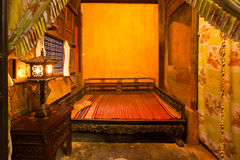 Hoi An bedroom Royalty Free Stock Photo