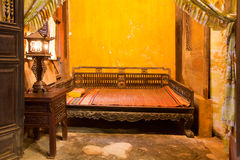 Hoi An bedroom Royalty Free Stock Photos