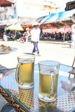Hoi An Beer Stop Stock Photography