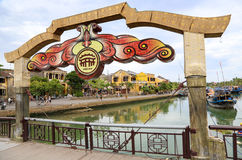 Hoi An bridge Royalty Free Stock Images