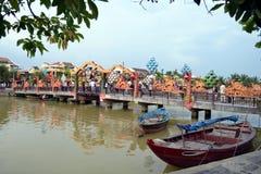 Hoi chodzący most Zdjęcie Stock
