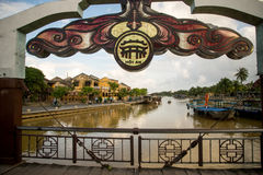 Hoi An - the city of chinese lanterns Stock Photos