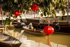 Hoi An - the city of chinese lanterns Stock Images