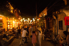 Hoi An - the city of chinese lanterns. Royalty Free Stock Images