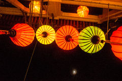 Hoi An - the city of chinese lanterns. Stock Images