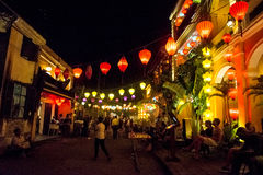 Hoi An - the city of chinese lanterns. Royalty Free Stock Photography