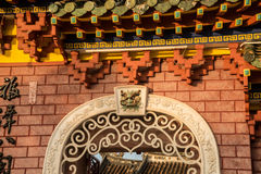 Hoi An - the city of chinese lanterns. The temple Stock Images