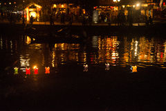 Hoi An - the city of chinese lanterns. Royalty Free Stock Image