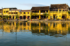 Hoi An riverbank Stock Images