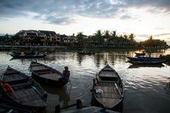 Hoi An - die Stadt von chinesischen Laternen Stockfoto