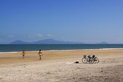 Hoi ein Strand Vietnam Stockfotos