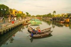 Hoi An em Vietname - tempo do dia imagem de stock royalty free
