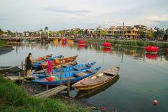 Hoi An em Vietname - tempo do dia imagens de stock royalty free