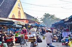 Hoi en gammal town Hoi An är en populär turist- destination av Asien Fotografering för Bildbyråer