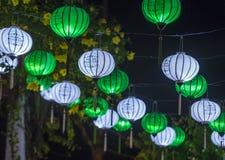 The Hoi An Full Moon Lantern Festival Royalty Free Stock Photos