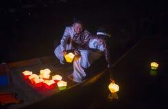 The Hoi An Full Moon Lantern Festival Stock Photos