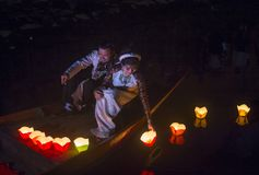 The Hoi An Full Moon Lantern Festival Stock Photography