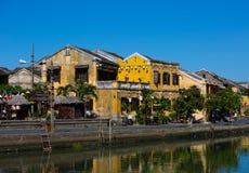 Hoi An gataplats Arkivfoto