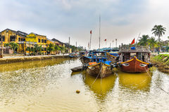Hoi An. HDR landscape of Hoi An city, Vietnam royalty free stock photo