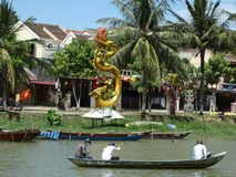 Hoi An. Historical town of Hoi An - the popular tourist destination in Vietnam royalty free stock image