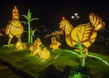 Hoi księżyc w pełni Latarniowy festiwal Obrazy Stock