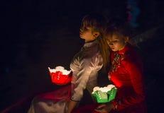 Hoi księżyc w pełni Latarniowy festiwal Obrazy Royalty Free