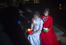 Hoi księżyc w pełni Latarniowy festiwal Zdjęcia Stock
