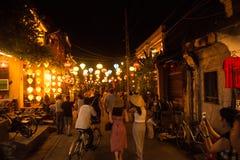 Hoi An - la città delle lanterne cinesi Immagini Stock Libere da Diritti