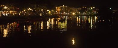 Hoi An - la ville des lanternes chinoises Images stock