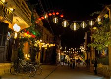 Hoi An Lanterns Royaltyfri Foto