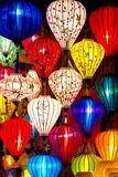 Hoi An Lanterns by night, Vietnam Royalty Free Stock Photography