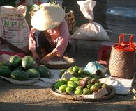 Hoi an market Stock Images