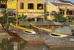 Hoi nabrzeże, Wietnam Fotografia Stock