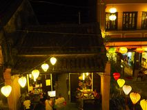 Hoi An at night stock image