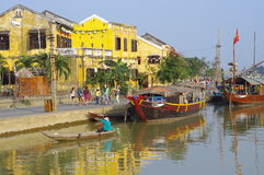 Hoi An, unique heritage site Stock Photography