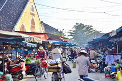 Hoi An old town. Hoi An is a popular tourist destination of Asia Stock Image