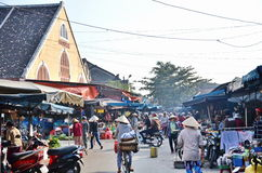 Hoi An old town. Hoi An is a popular tourist destination of Asia Stock Photo