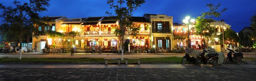 Hoi An Panorama Stock Photos
