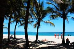 Hoi plaża, Vietnam Fotografia Royalty Free