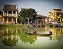 Hoi An, River View,  Vietnam Stock Photo