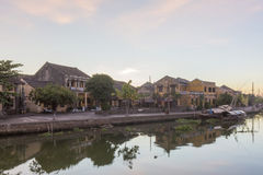 Hoi An riverside town Royalty Free Stock Photography