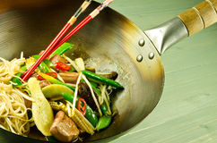 Hoi Sin Duck Stir Fry Royalty Free Stock Photos