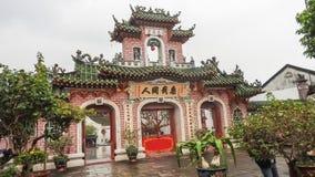Hoi An stad av lyktor i Vietnam arkivfoto