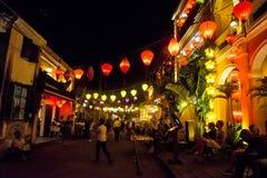 Hoi An - staden av kinesiska lyktor Royaltyfri Fotografi