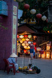 Hoi An - staden av kinesiska lyktor Arkivbild