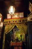 Hoi An - staden av kinesiska lyktor Huset av detaljhandlaren Royaltyfria Bilder