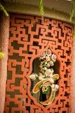 Hoi An - staden av kinesiska lyktor Templet Royaltyfri Fotografi