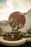 Hoi An - staden av kinesiska lyktor Templet Arkivfoton