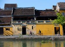 Hoi An-Straßenbild Stockfotografie